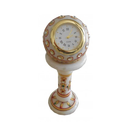 Marble Handicrafts Pillar Clock