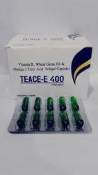 Vitamin E, Wheat Germ Oil and Omega 3 Fatty Acid Capsules