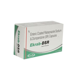 Enteric Coated Rabeprazole Sodium And Domperidone Capsule, 10x10 Capsule, Packaging Type: Strip