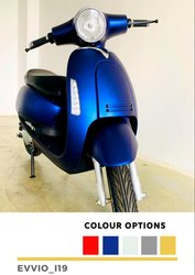 HINDMOTOCORP 5 Colours Electric Scooter Evvio Slik i19, 3 Hrs, 10 Amp Charger