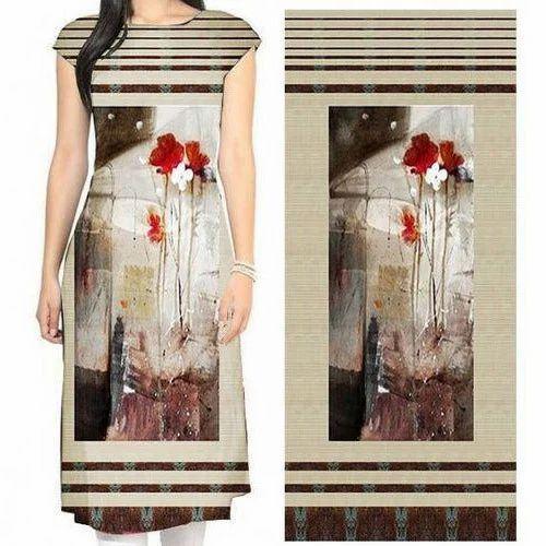 3d25e562a6 Multicolor Digital Printed Ladies Suit Fabric, For For Making Ladies Suit