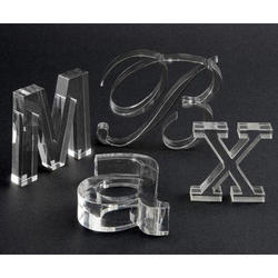 Laser Cutting Service on Acrylic Letters
