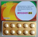 Methylcobalamin 1500 Mcg,Alpha Lipoic Acid 100 Mg,Folic Acid 1.5 Mg,Pyridoxine 3 Mg,Vit.D3 1000 Iu