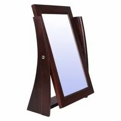 Rose Wood Table Top Mirror -Mi 022b