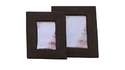 Double Photo Frame In Leatherite Paper