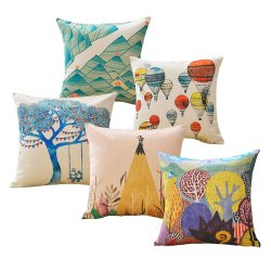 Fancy Pillow And Bolster Cushions