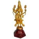 Goddess Laxmi Standing Antique Figure Statue
