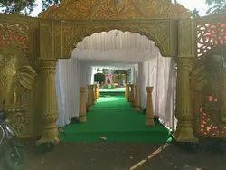 Wedding Main Door Decoration Services