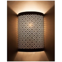Designer Etched Wall Lamp