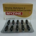 Ginseng, Multivitamin & Mutiminerals Softgel Capsules