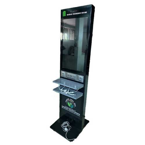 Digital Standee With Mobile Charging Points