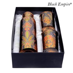 Printed Copper Bottle Gift Set