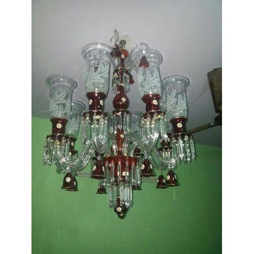 Modern green crystal chandelier bristo lamp shades firozabad id modern green crystal chandelier aloadofball Images