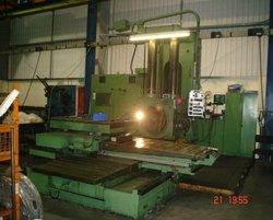Automatic Scharmann 100mm Horizontal Boring Machine, Capacity: 100 mma