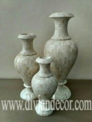 Bone Inlay Vase