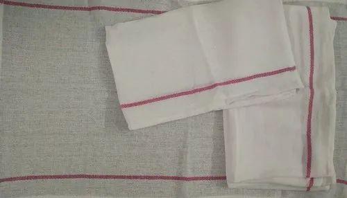 Cotton Plain Herring Bone Kitchen Towel