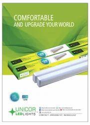 UNICOR LED Tube Light f or Indoor, 16 W - 20 W