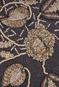 Crystal and Stone Border Embroidery Work