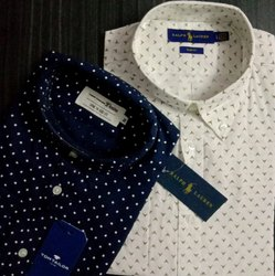 Collar Neck Casual Wear Branded Shirts