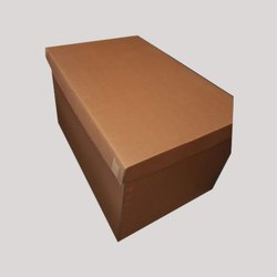 Rectangular 7 Ply Heavy Duty Corrugated Box, Size(LXWXH)(Inches): 3x3x2 Feet