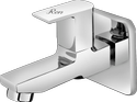 Ren Modern Long Body Bib Cock With Wall Flange (r2s-804) For Bathroom Fitting