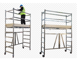 Extra Wide Aluminum Scaffolding System