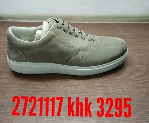 Khakhi Men Woodland Shoes, Size: 6 To