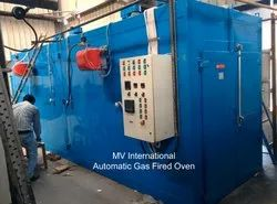 Gas Fired Geomet Coating Oven