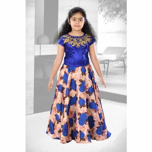 812127ab7 Pranjal Party Wear Kids Girl Fancy Long Frock