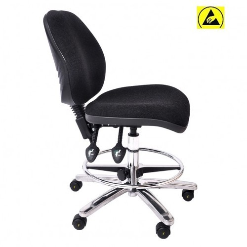 Black 19   24 Inch Antistatic ESD Chair
