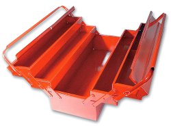 Steel Tools Box, Size: 17 Inch