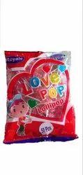 Fruit Pop (Heart Shaped Lollipop) - 5 Gram, Packaging Type: Packet