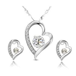 Jewellery Set In Silver