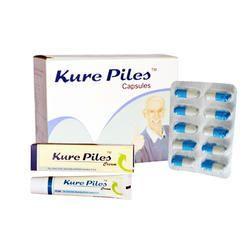 Piles Capsules for Clinical Kurepiles Capsules, Grade Standard: Medicine