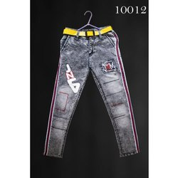 Forever Young Stretchable Kids Denim Jeans, Hand Wash, Machine Wash