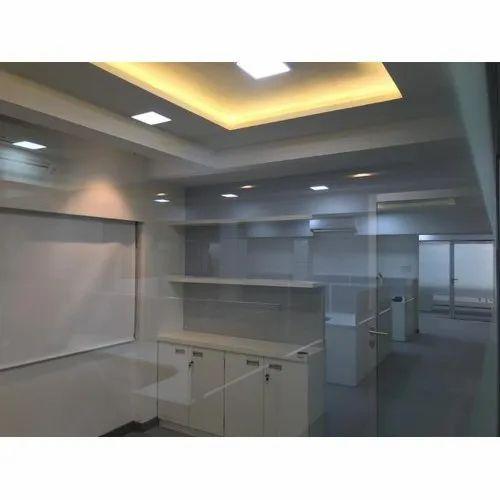 Gypsum White Office False Ceiling Designing Service Id
