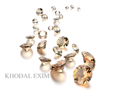 Brown Colored Diamonds, Size: 0.01-2.00 Carat