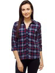 4aa5f67b8 Ladies Polyester Casual Shirt, Size: XXL, Rs 220 /piece, The ...