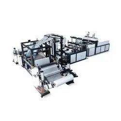 W Cut Bag Making Machine