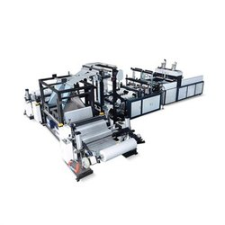 W Cut Bag Making Machine