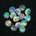 Natural Fire Ethiopian Opal Loose Gemstone