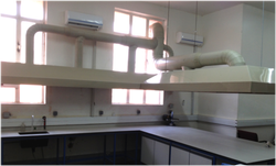 MS Laboratory Canopy Ducting