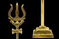 Brass Trishul