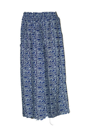 e142df4cc9 Rayon Printed Long Skirt, Size: XL, Rs 200 /piece, Star Product | ID ...