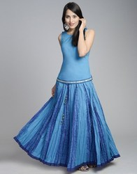 Ladies Lengeha Style Skirts