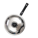 Non Stick Deep Frying Pan with SS Lid