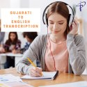 Online Audio Transcription General Transcription Gujarati To English Transcription Service, On Line
