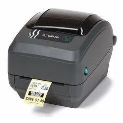 GK420T Zebra Barcode Label Printer