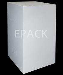 White Thermocol Block