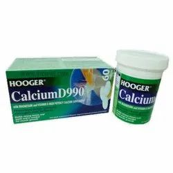 Hooger Calcium D990 for Height Increase Tablet, Packaging Type: Box